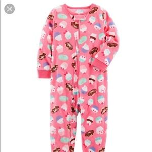 Carter's Fleece Pink Pajamas